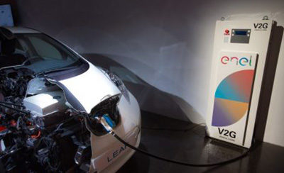 Vehicle-to-grid tech in the new Nissan Leaf