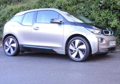 BMW i3 60Ah REX (2015) Andesit Silver / Lodge interior