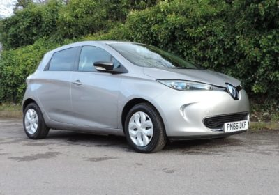Renault Zoe 22kWh (2016) Grey / Black interior