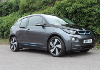 BMW i3 60Ah REX (2016) Mineral Grey / Suite Leather