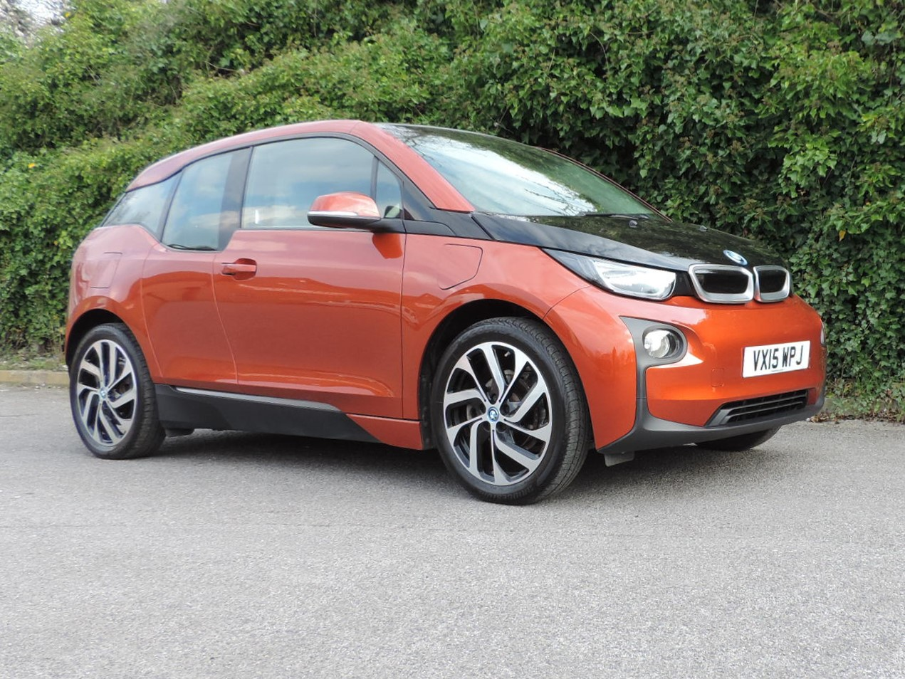 BMW i3 60Ah REX (2015) Solar Orange / Loft interior