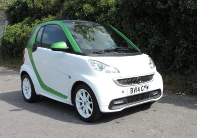 Smart ForTwo Electric Drive (2014) Green / White