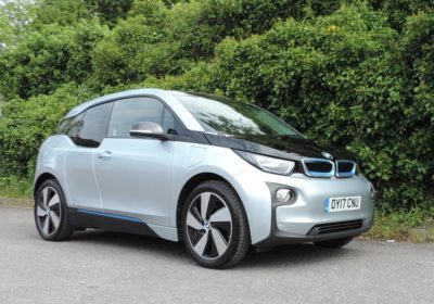 BMW i3 94Ah Rex (2017) Ionic Silver / Suite Leather