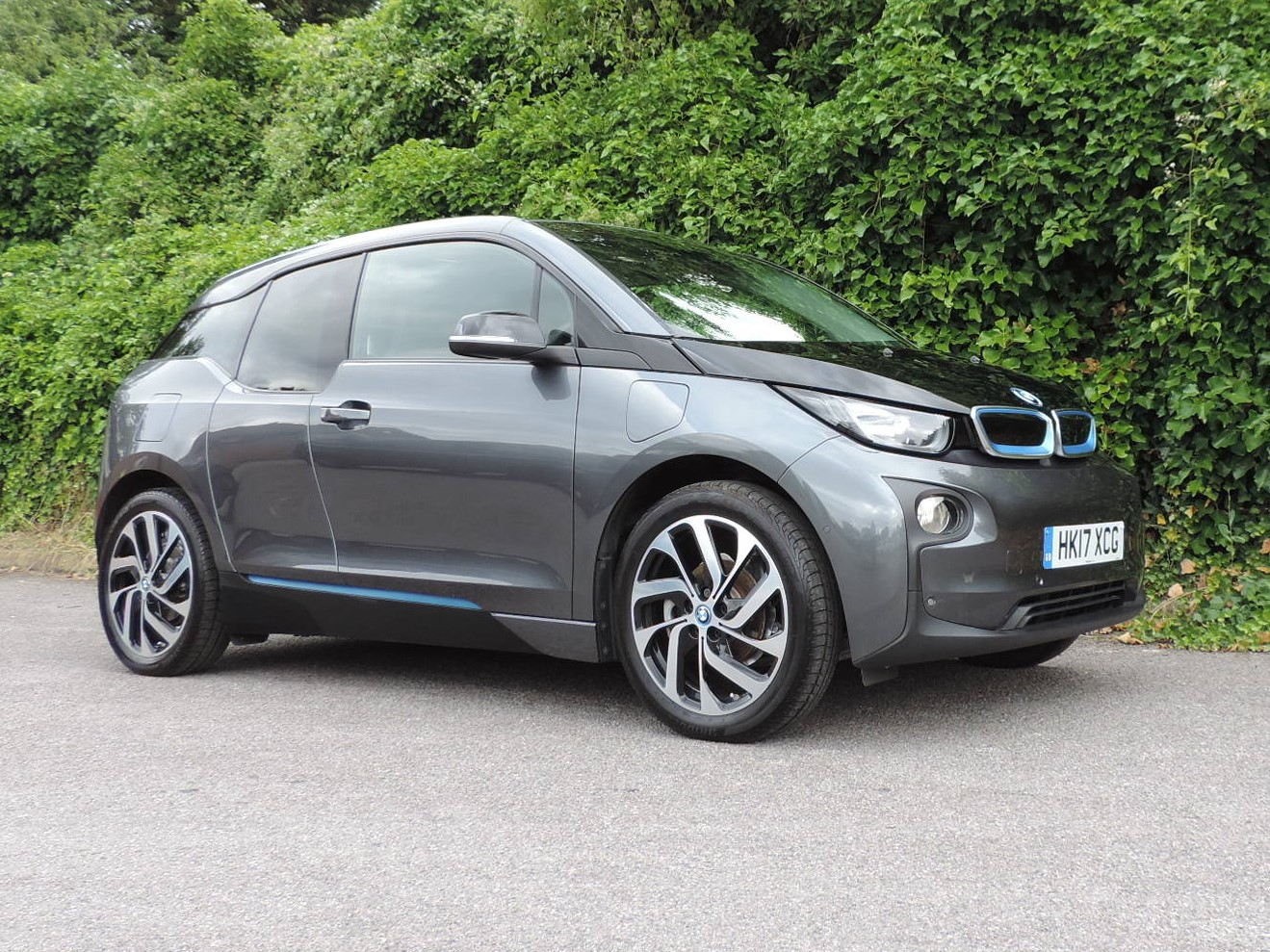 BMW i3 94Ah REX (2017) Mineral Grey / Suite Leather