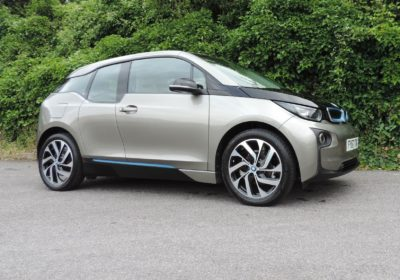 BMW i3 94Ah BEV (2017) Platinum Silver / Lodge interior