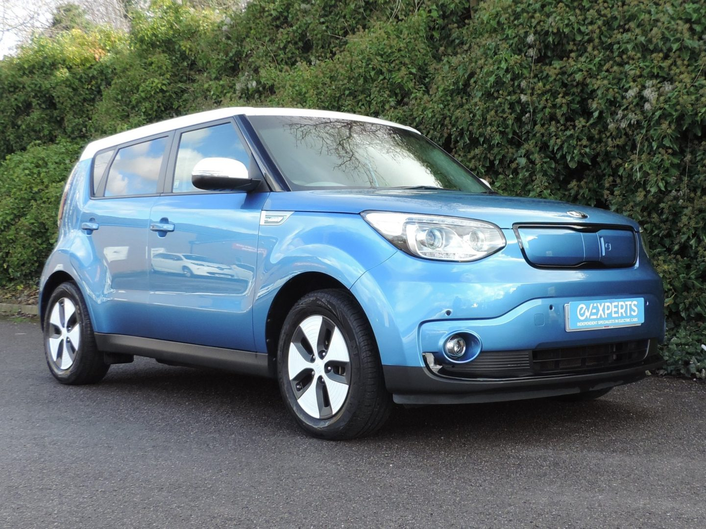 Kia Soul EV 27kWh (2016) Caribbean Blue / Grey Cloth