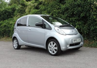 Peugeot Ion (2012) Silver / Grey cloth