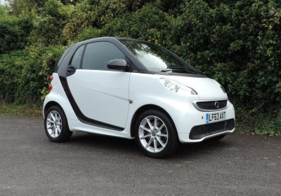 Smart ForTwo Electric Drive (2013) Crystal White