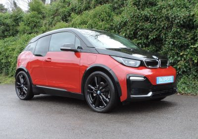 BMW i3 S 94Ah REX (2018) Melbourne Red / Suite Leather