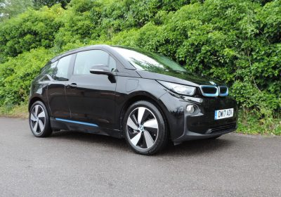 BMW i3 94Ah REX (2017) Fluid Black / Loft interior