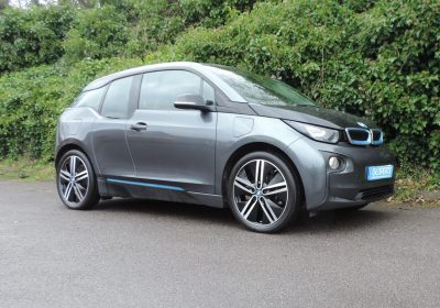 BMW i3 94Ah REX (2016) Mineral Grey / Suite Leather