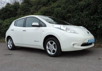 Nissan Leaf 30kWh (2016) Storm White / Grey Cloth