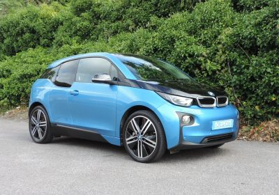 BMW i3 94Ah BEV (2017) Protonic Blue / Suite Leather