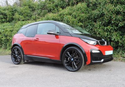 BMW i3 S 120Ah BEV (2019) Melbourne Red / Cloth interior