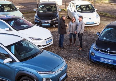 British motorists charge towards EVs