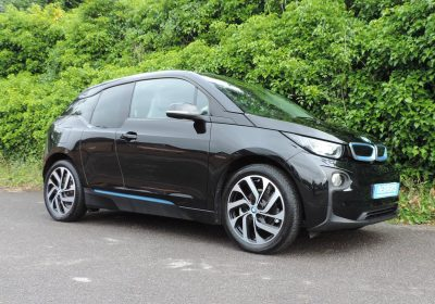 BMW i3 94Ah BEV (2017) Fluid Black / Loft interior