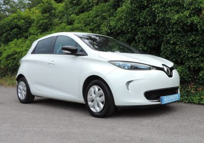 Renault Zoe 22kWh Expression (2015) Glacier White / Black Cloth