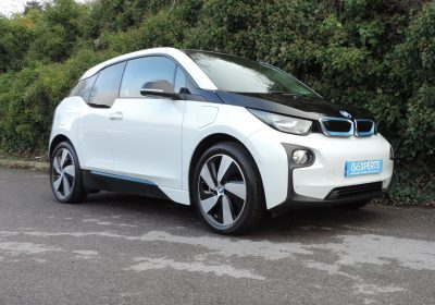 BMW i3 22kWh REX (2015) Capparis White / Suite Leather