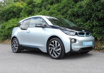 BMW i3 94Ah BEV (2017) Ionic Silver / Cloth