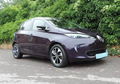 Renault Zoe R110 41kWh Dynamique Nav (2019) Aconite / Grey Cloth