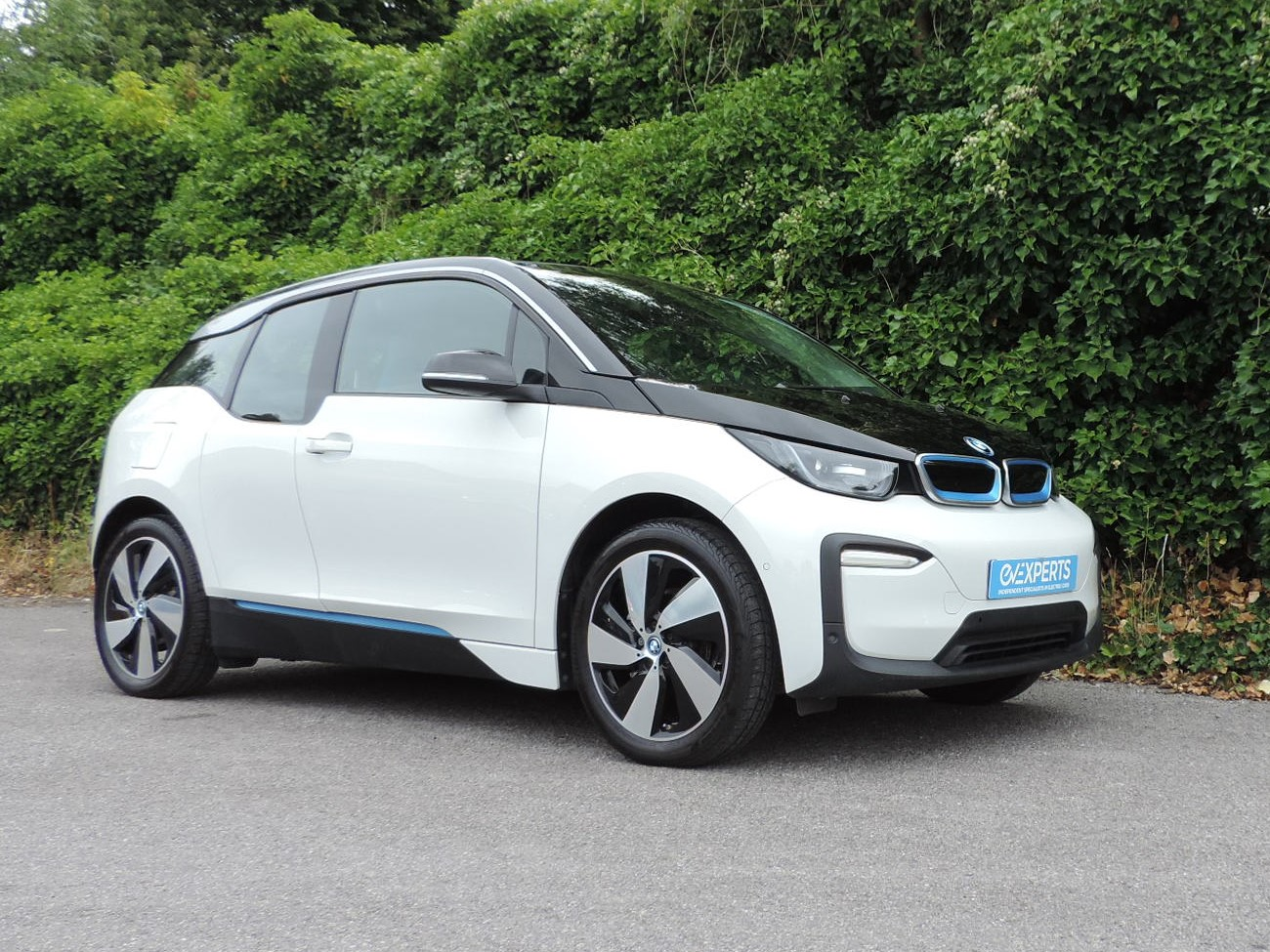 BMW i3 120Ah BEV (2019) Capparis White / Cloth interior