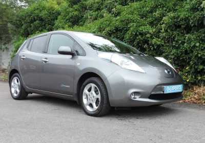 Nissan Leaf 30kWh 6.6kW Acenta (2016) Gunmetal Grey / Grey Cloth