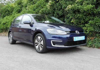 VW e-Golf 36kWh (2019) Atlantic Blue / Grey cloth