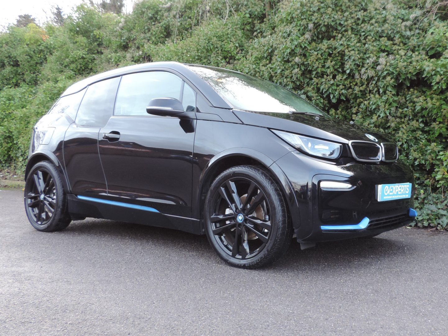 BMW i3 S 42.2kWh / 120Ah (2019) Fluid Black / Grey Cloth