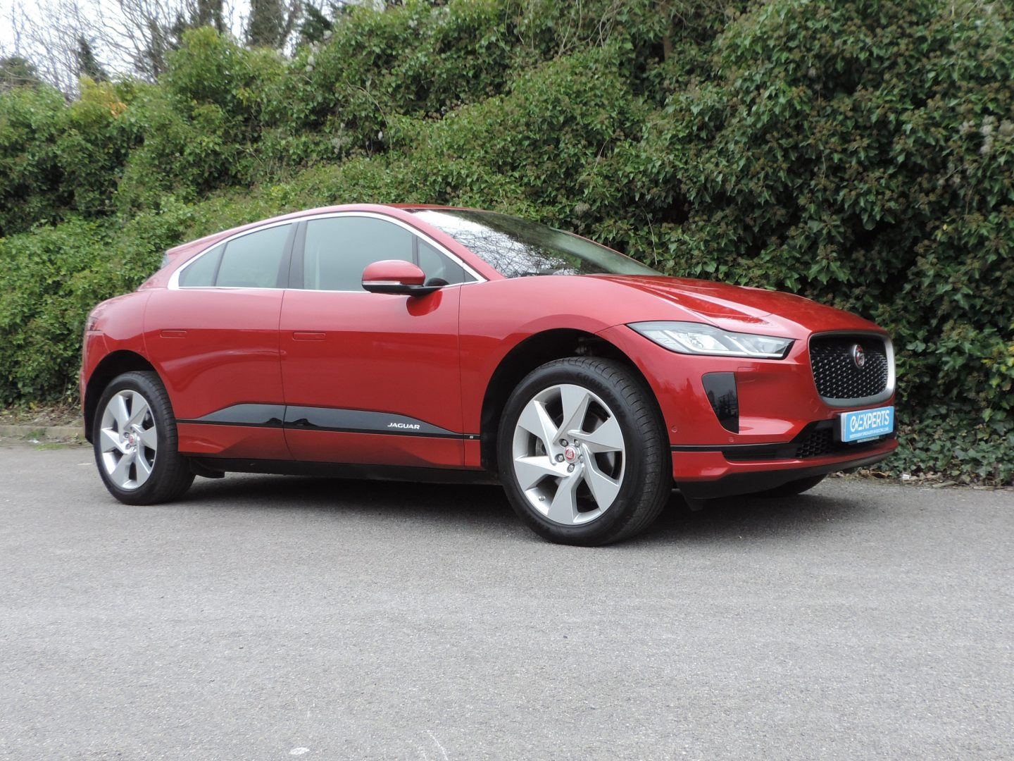 Jaguar I-Pace 90kWh S (2019) Firenze Red / Ebony leather