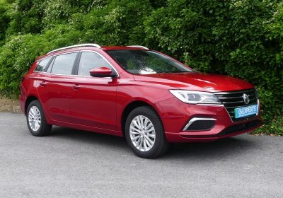 MG 5 Estate Exclusive 52kWh (2021) Dynamic Red / Black leather-style interior